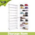Hot sale 10 layer 30 pairs shoe rack in Mexico