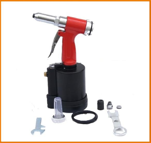 SAT6635 ningbo air tools pneumatic air riveter 6635 silencer pop rivet gun