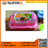 Plastic Lunch Container with Airtight Lid
