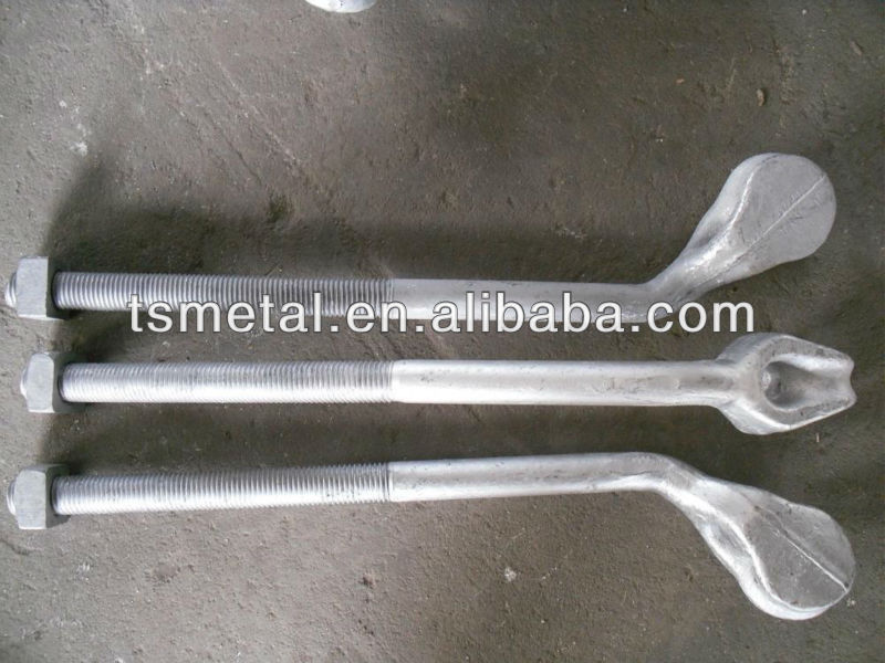 forged sleeve anchor bolt type Angle Type Bolt