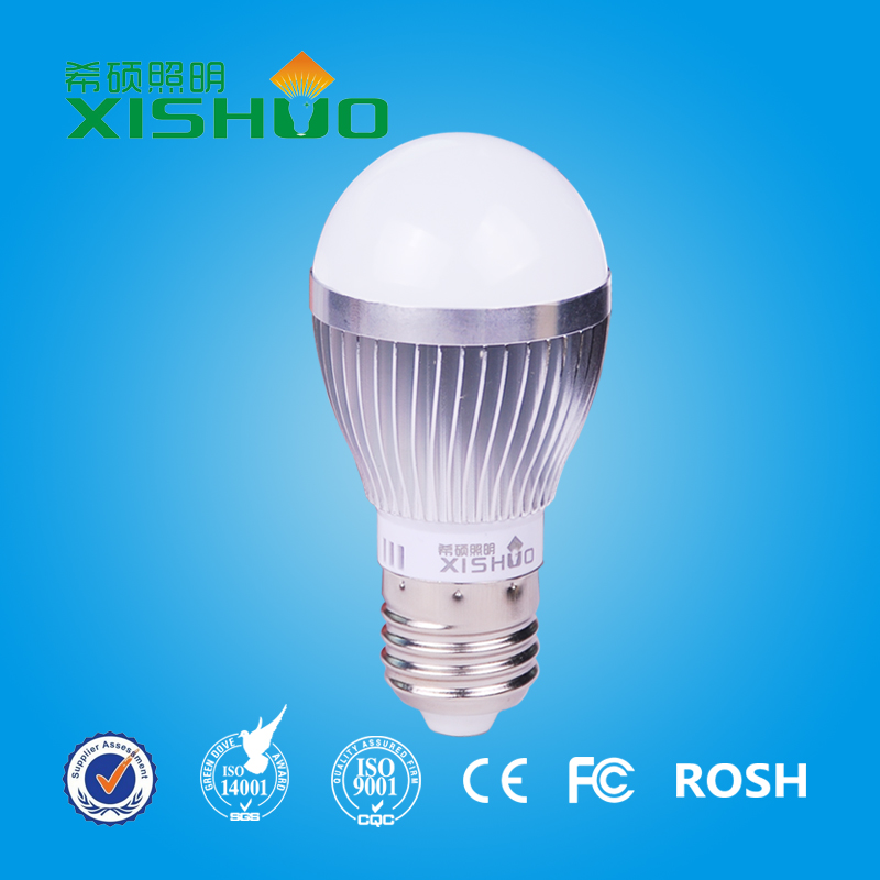 Best seller low cost 9W e27 led light bulb cool white with 3 years warranty