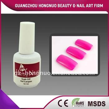 Hot Pink Soak Off UV Gel Polish 15ml For Nail Art HN1116