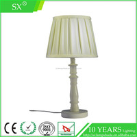 Newest design silk lining fabric enamel natural rattan white color bell shaped lamp shade