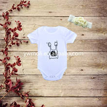 New selling fashion design baby toddler clothing organic cotton baby romper