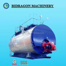 Oil Gas Fired Steam Boiler To Heat Waste Oil