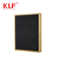 odor removal Reusable honeycomb active carbon filter for air conditioner