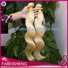 Hot sale Top quality Color 613 unprocessed hair extension beyonce