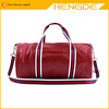 High quality PU leather travel duffle bags