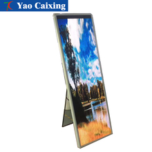 New product P2.5/P3 slim photo led display,Customizing any size Poster video advertising screen