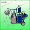 Single cow portable milking machine