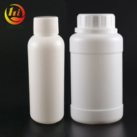 China suppliers 100 ml white hdpe 8oz 16oz plastic bottle with tampet proof cap