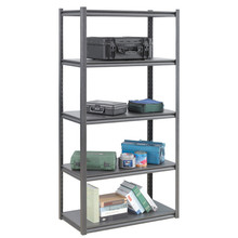 Best selling Warehouse Slotted Iron System,Rivet Angle Shelving