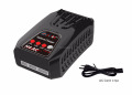 20W Compact balance charger 2-4cells Lipo Life Lihv battery and charge current range 0.1-2.0A