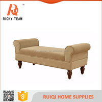 Antique style hot sale comfortable and soft bed chair