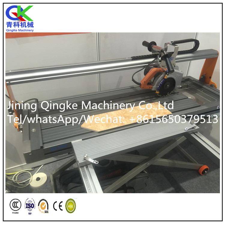 Marble granite ceramic tile cutting machine with high cutting speed