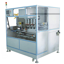 4 color CNC pad printing machine