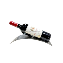 Minghou new style creative tabletop single wine bottle holder