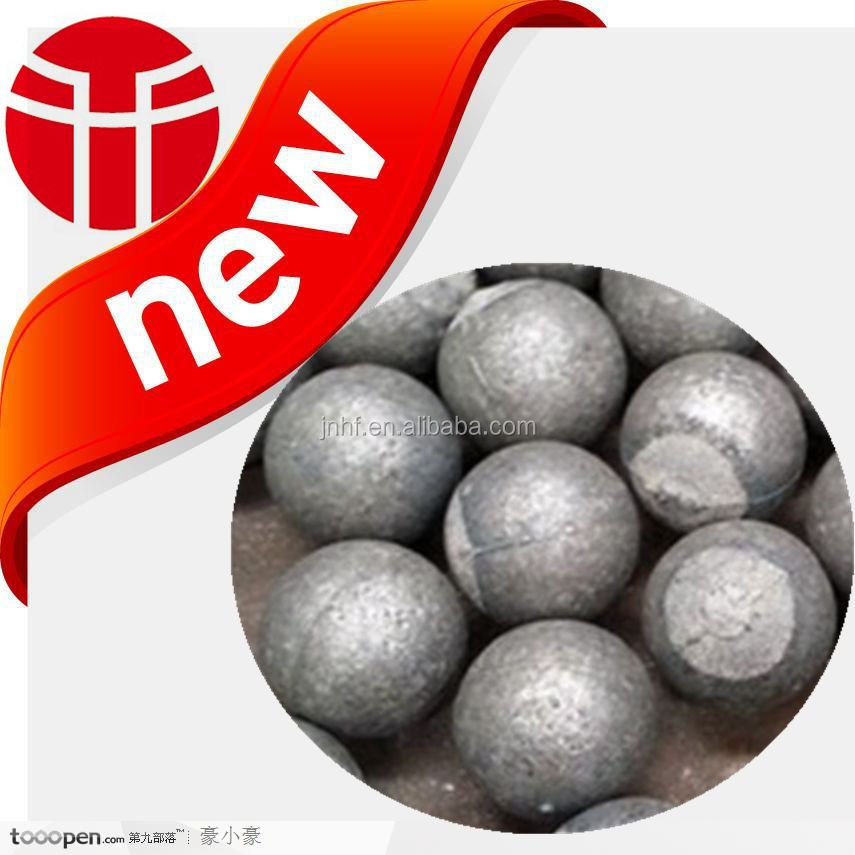 Jinan China huafu forging co LTD production of 120mm high chrome casting ball do not break round and broken Super durable