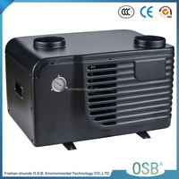 BC15-006T-b 3.0KW 9800BTU 3.61COP 4.5A 52db sale geothermal plastic heat pump sale air to water china