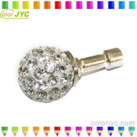 P101 Diamond dustproof plug ear cap