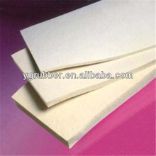 White silicone foam tape