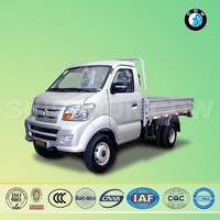 China Sinotruck Cdw 4*2 diesel variable body dimensions mini flatbed truck