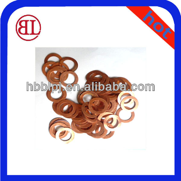 Injector copper/bronze/brass gasker ,washer