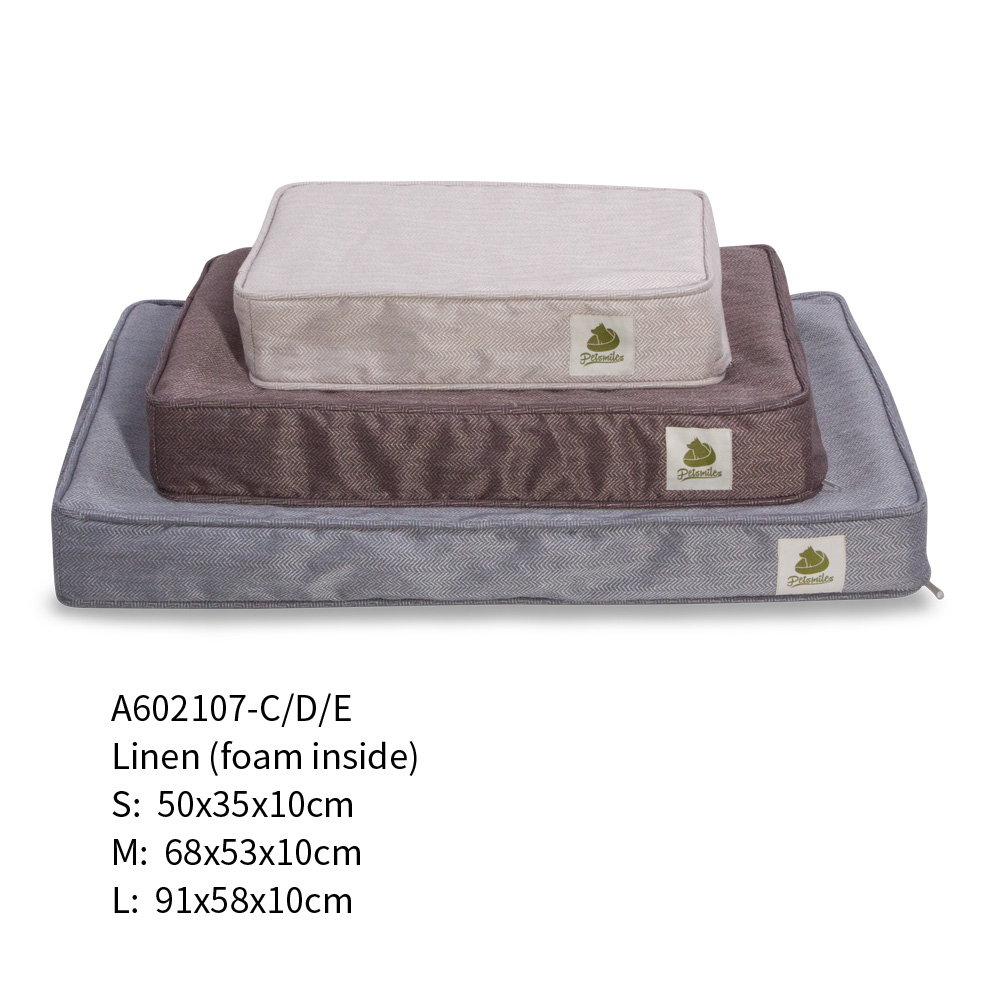 custom luxury pet orthopedic dog bed