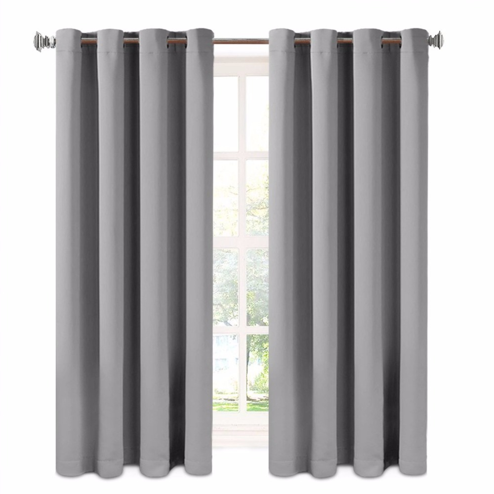 Custom curtain panels