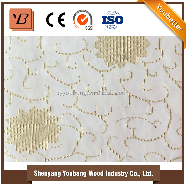 2016 Fashionable High quality Popular decorative pvc wall panel for Interior Decoration