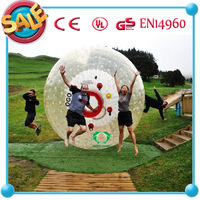 HI CE New!! Discount zorbing ball equipment/cheap sale inflatable body zorbing ball for kids