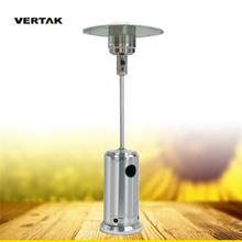VERTAK Stainless steel Freestanding outdoor garden propane butane gas patio heater