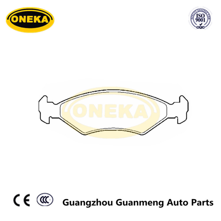 ONEKA Brake Pad Set 0K2A2-33-23Z PAD1145 DB1335 FOR Sephia 1996 2000 FOR KOREA CAR PARTS IN GUANGZHOU
