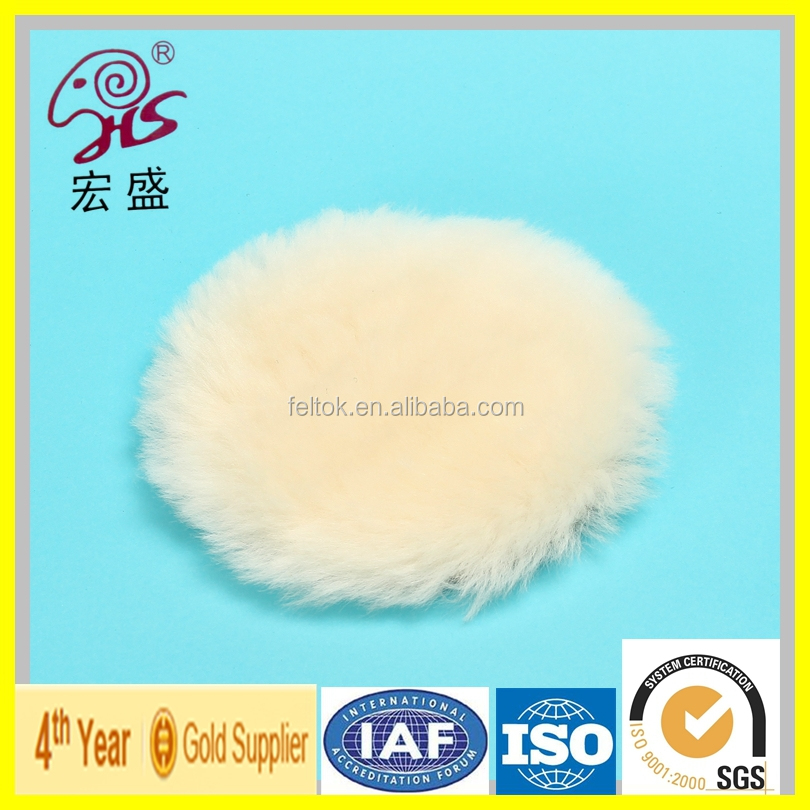 High Quality Wool Burnishing and Cleaning Pad With nylon tape