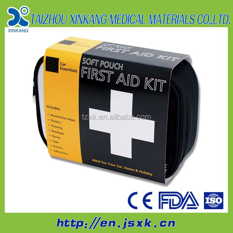 Red Box for Survival/First Aid Kit (Leak-Resistant PSK/IFAK Tin)