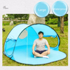 Large foldable fast open beach sun shade tent fishing tent