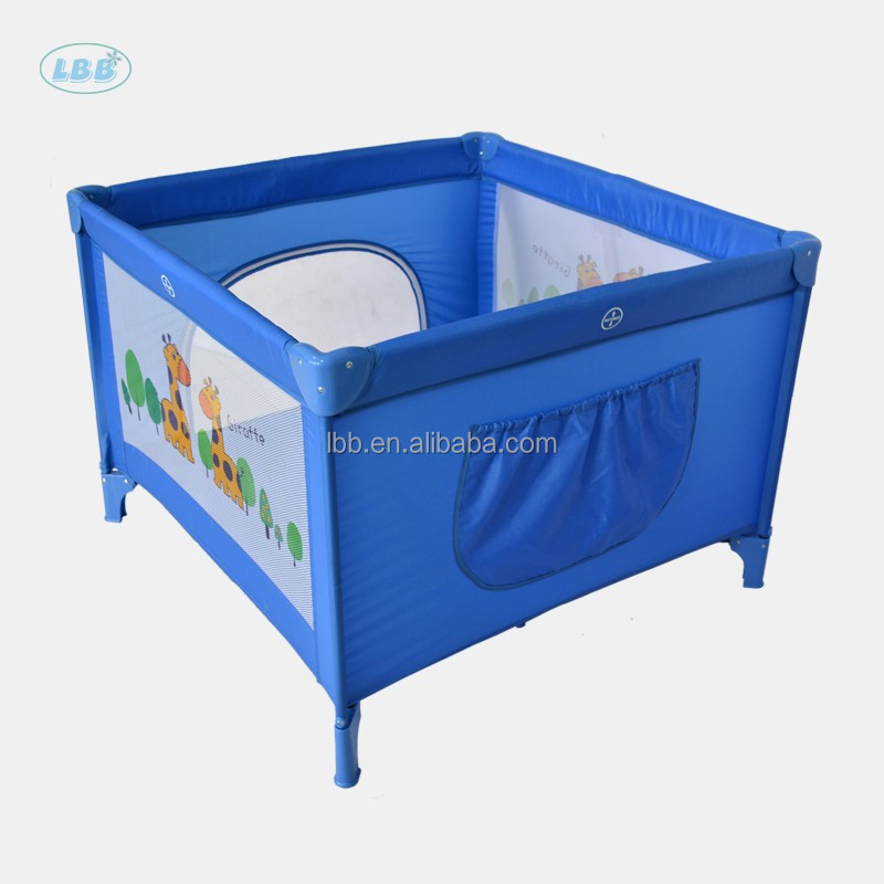Large square playpen for baby