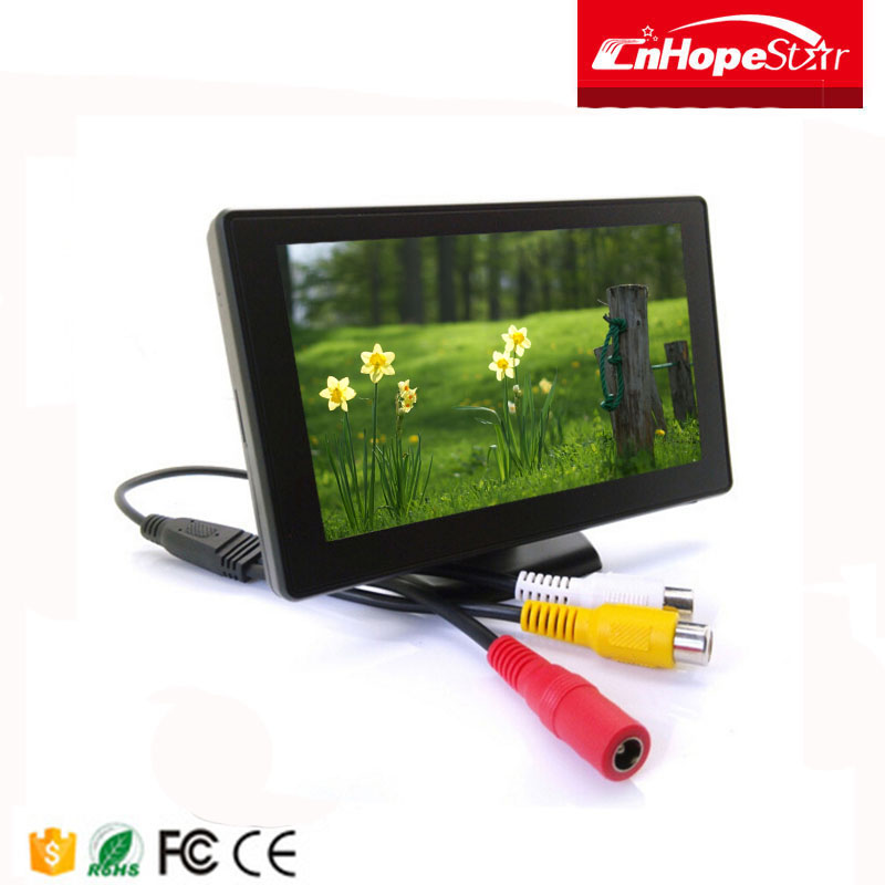 24v outdoor bus tv led monitor car roof mount lcd monitor with tv