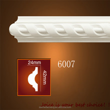 Profiles Waterproof PU MDF Ceiling Cornice White Combinations Moulding