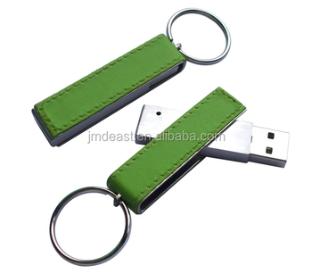 Leather usb flash memory, Best Selling Logo Printed Swivel USB Flash Drives