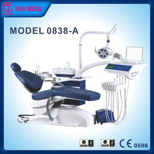 2016 most popular Multi-functional digital Complete Hydraulic dental chair price