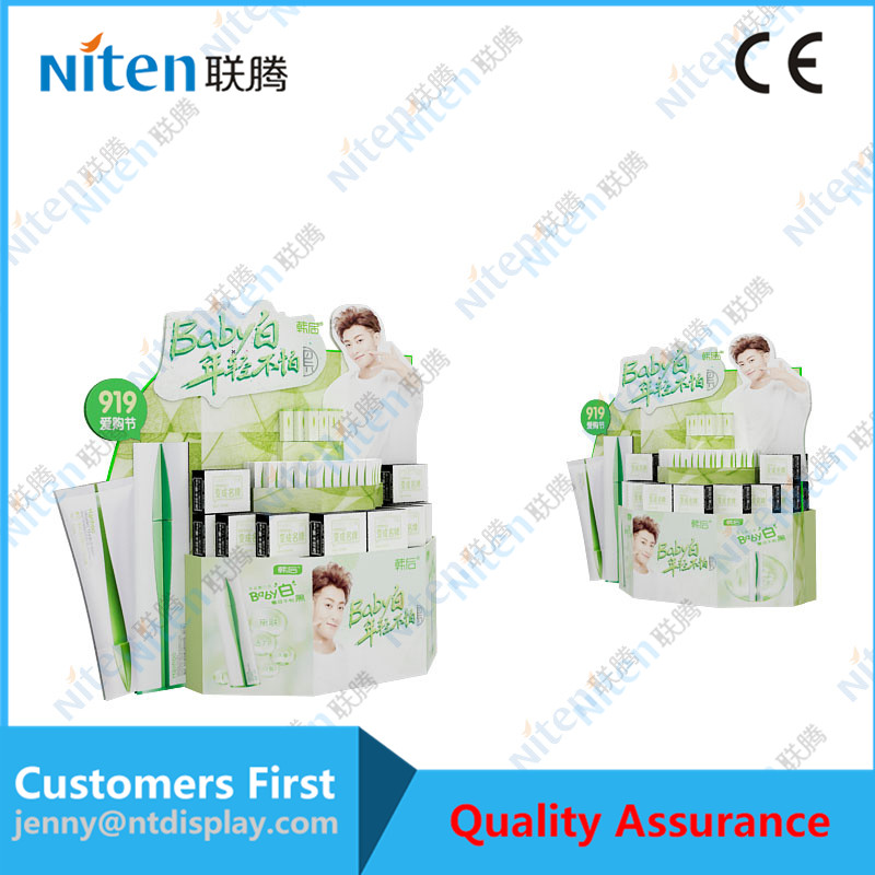 2017 New product paper stands display cardboard pop displays