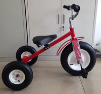 red tube kids tricycle with pedal, child tricycle, kids bike with pedal TC1803
