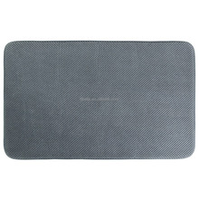 Anti-slip Bath Mat Memory Foam Soft Floor Rug ,Grey