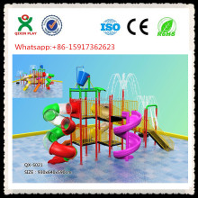Build your own large Water Slides/ Kids Water Slide/ Inside Water Parks QX-S021