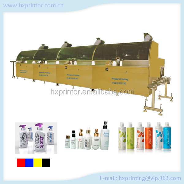 Full automation 4 color Electric Silk Screen Printing Machine for sale