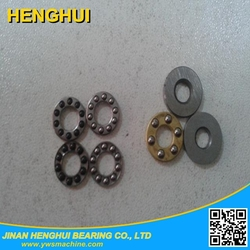 F4-9M F4-9 4*9*4 4mm bore size brass cage mini thrust ball bearing
