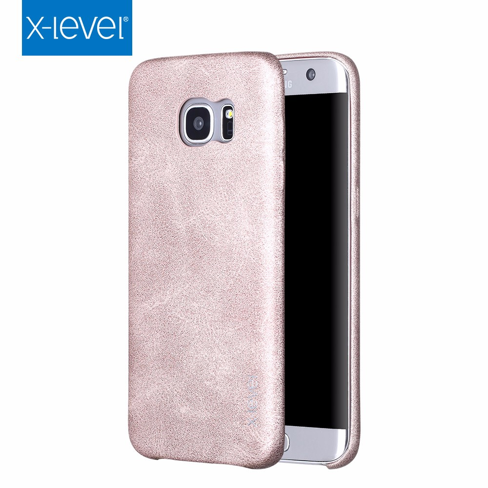 China Mobile Phone PU Leather Back Cover For Samsung Galaxy S8 Case