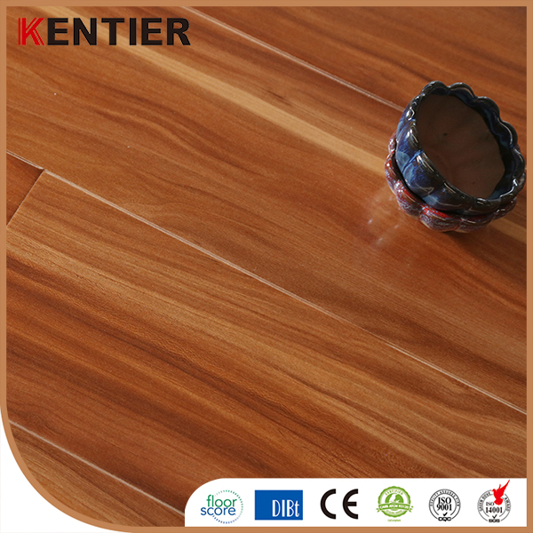 8mm Real Wood Grain HDF MDF Laminate Flooring