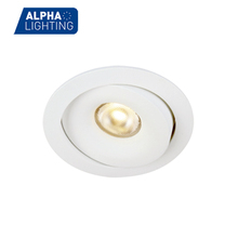 Low Built-In Height 7w Adjustable Waterproof Ceiling Recessed Lights